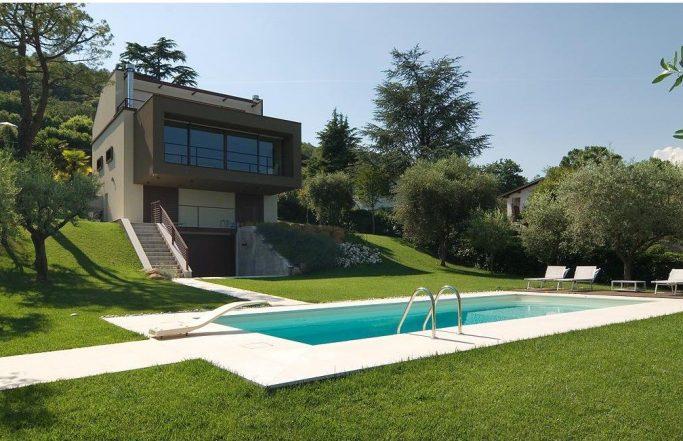 Villa ODL – Serramenti in alluminio