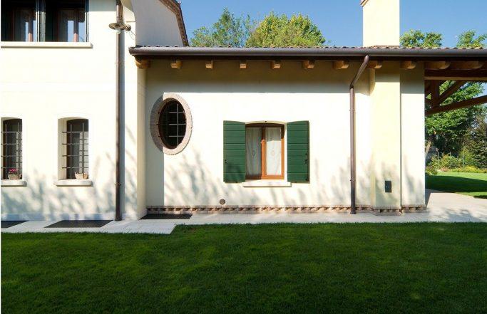 Villa BRN – Serramenti in legno