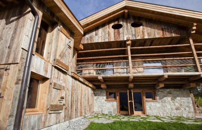 Villa FVL – Serramenti per casa in montagna