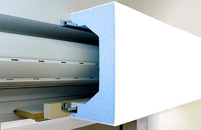 Roller shutter boxes
